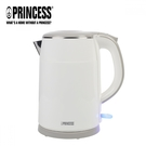 【PRINCESS|荷蘭公主】1.5L不鏽鋼防燙快煮壺/白 236070