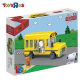 玩具反斗城 BANBAO 史努比系列 黃色校車