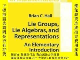 二手書博民逛書店Lie罕見Groups, Lie Algebras, And Representations-李群,李代數和表示奇