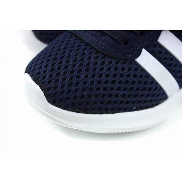 童鞋 小男生鞋 休閒布鞋 魔鬼氈 網布 深藍色 小童 童鞋 B2028 no154