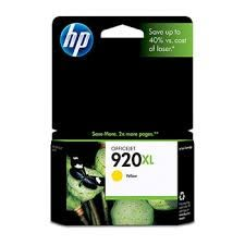 HP CD974AA NO.920原廠大印量黃色墨水匣 適用OJ Pro6000/6500w/6500A Plus/OJ7000/7500A(原廠品)
