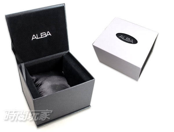 ALBA雅柏錶 ACTIVE 玩轉新世代 活力玩酷型男三眼計時男錶 藍寶石水晶 黑 AM3337X1 VD57-X080D