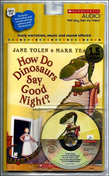 (二手書)How Do Dinosaurs Say Good Night? (Book + Audio CD)