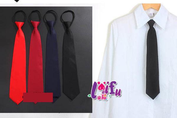 ★草魚妹★K537拉鍊領帶49CM大頭寬8cm寬版領帶免打領帶寬領帶,售價170元