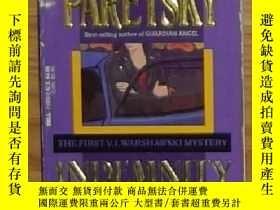 二手書博民逛書店英文原版罕見Indemnity Only (V.I. Warsh