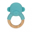 NUBY 造型櫸木固齒器-小猴子