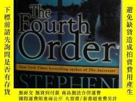 二手書博民逛書店【英語】原版英文小說罕見《 The Fourth Order 》