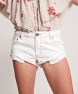 ONETEASPOON WHITE BEAUTY BANDITS 牛仔短褲