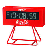 SEIKO/精工鐘 可口可樂Coca-Cola 限量 鬧鐘 計時(QHL901R)