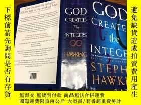 二手書博民逛書店God罕見Created the Integers by Stephen HawkingY171500 看圖