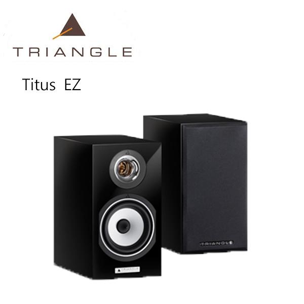 【新竹勝豐群音響】Triangle Esprit Titus  EZ 書架型喇叭 黑色 (Paradigm/Integra/Marantz)