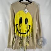 BRAND楓月 LOEWE 羅意威 微笑流蘇針織上衣 棉T 萬用百搭 100%棉 長袖 T恤 T-SHIRT 衣服 #S