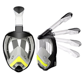 折迭款浮潛面罩全乾式全臉潛水鏡游泳面罩套裝【618優惠】