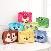 【旅行行李收納包L號 大臉系列】Norns 迪士尼 衣物收納袋 分類整理包 出國旅行袋 大臉造型