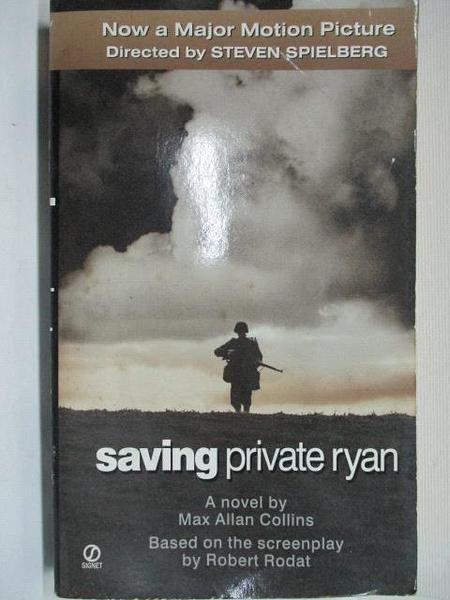 【書寶二手書T6/原文小說_BXA】Saving Private ryan