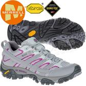 Merrell 06082 Moab 2 Gore-Tex 女多功能防水登山健行鞋 GTX/耐走登山鞋/戶外郊山鞋/健走慢跑鞋