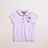 【金安德森】KA下擺鬆緊小熊印花女生POLO衫(共二色)