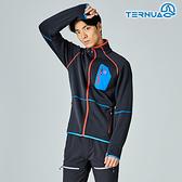 【西班牙TERNUA】男Power stretch pro 保暖外套1642910 / 城市綠洲(Polartec、刷毛、透氣、快乾)