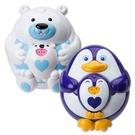 【美國ALEX】841B 841P  兒童洗澡玩具 漂浮噴泉親子企鵝/北極熊 /組