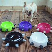 法斗巴哥英斗貓咪專用碗糧食碗狗盆狗碗狗食盆寵物用品