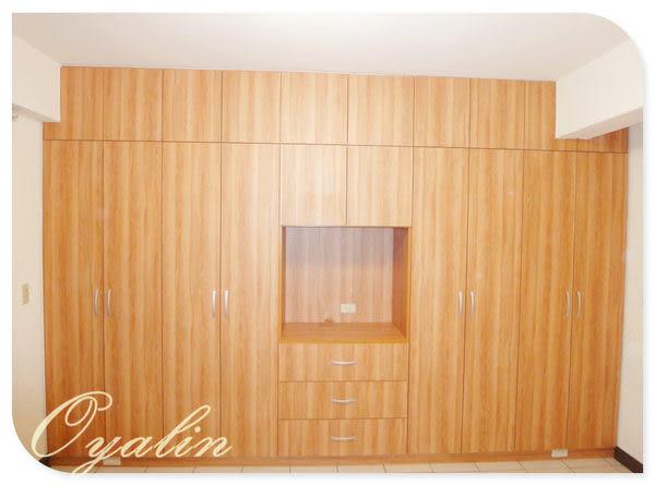 【歐雅系統家具】系統櫃 綜合功能&復古素雅 系統衣櫃&電視櫃 EGGER E1-V313防潮塑合板 客製化訂做