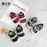 夏季寶寶涼鞋男童0-1-3歲女童包頭嬰兒涼鞋軟底兒童學步鞋防滑潮    韓小姐