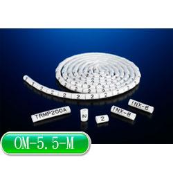 KSS O型配線標誌 OM-5.5-M (100入)
