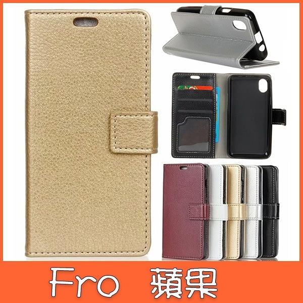 XS MAX XR iPhoneX i8 Plus i7 Plus 蘋果 手機皮套 荔枝紋皮套 插卡 支架 掀蓋殼