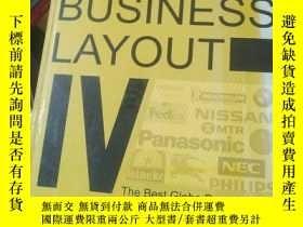 二手書博民逛書店Big罕見Business Layout IV: The Best Globe Brand DesigY246