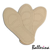 Ballerina 真皮透氣舒適乳膠鞋墊2 對入