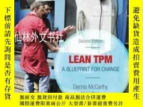 二手書博民逛書店【罕見】 Lean TPM: A Blueprint for C