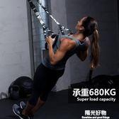拉力器懸掛式訓練帶拉力繩男女士胸肌專業力量鍛煉家用健身器材 陽光好物