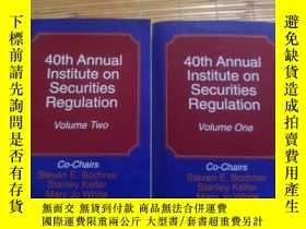 二手書博民逛書店40th罕見Annual Institute on Securi