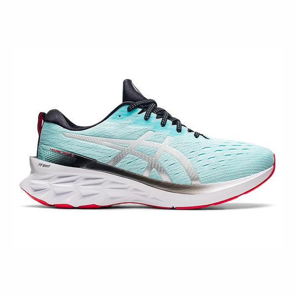 Asics Blast系列 [1011B192-400] 男鞋 慢跑鞋 運動 休閒 輕量 支撐 緩衝 彈力 湖水藍 白