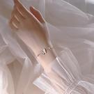 手鏈 蝴蝶手鏈女925純銀簡約韓版閨蜜手飾送女友生日禮物【快速出貨八折下殺】