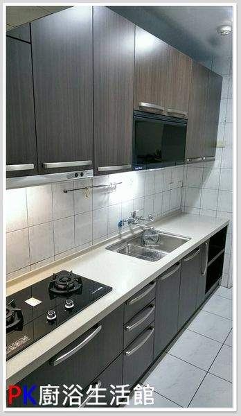 ❤ PK廚浴生活館 ❤ 高雄 流理台 廚具  300公分上下櫥流理台 人造石台面※實體店面