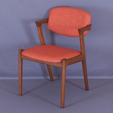 【這家子家居】北歐 扶手 (山毛櫸) 餐椅 書桌椅 有情入/flap-back/咖啡椅/餐廳 【B0110】