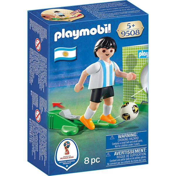 特價 playmobil 世界盃足球 阿根廷_PM09508