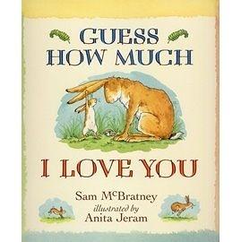 『繪本123‧吳敏蘭老師書單』『童書久久書單』-- GUESS HOW MUCH I LOVE YOU/英文繪本《母親節》