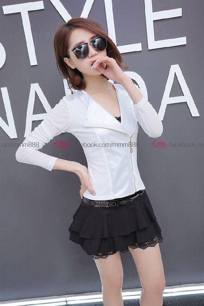 衣美姬♥春夏新款A字裙 蕾絲氣質款短裙 高腰鬆緊帶造型半身裙 兩色可選