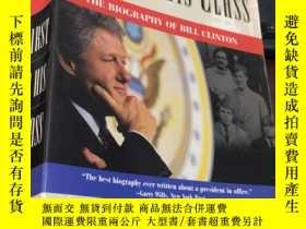 二手書博民逛書店first罕見in his class: the biography of bill clinton (平裝)