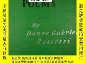 二手書博民逛書店《但丁·加百利·羅塞蒂詩歌與藝術罕見》 大量藝術圖錄,1899年