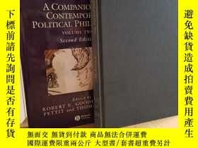 二手書博民逛書店Companion罕見to Contemporary Polit