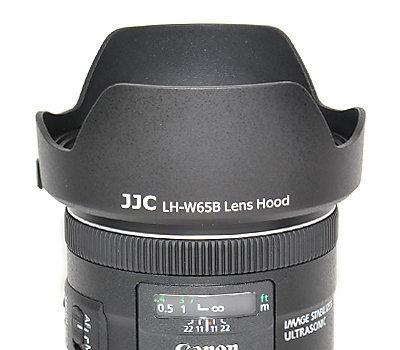 又敗家@JJC副廠Canon遮光罩EW-65B遮光罩(可反裝同佳能Canon原廠遮光罩)EW65B適EF 24mm 28mm f/2.8 IS USM f2.8