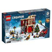 LEGO 樂高 Creator 創意系列 10263 冬季村消防局 【鯊玩具Toy Shark】