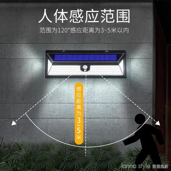 太陽能燈戶外庭院燈家用路燈新農村防水超亮別墅照明LED感應壁燈 年終大促 YTL