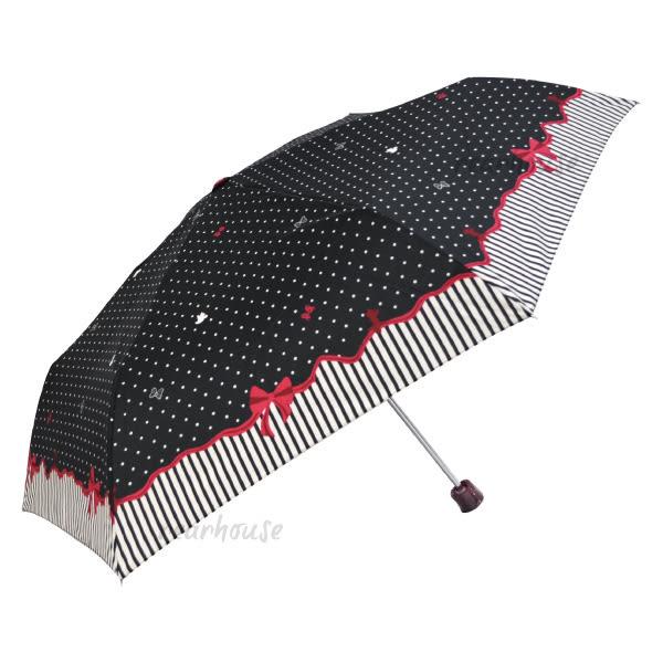 日本 迪士尼 Disney 折傘/晴雨傘/摺疊傘 55cm 米妮 Minnie