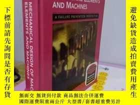 二手書博民逛書店實物拍照;MECHANICAL罕見DESIGN OF MACHINE ELEMENTS AND MACHINES