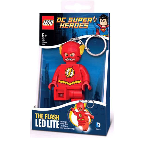樂高LEGO DC英雄系列 閃電俠 LED燈 鑰匙圈 TOYeGO 玩具e哥