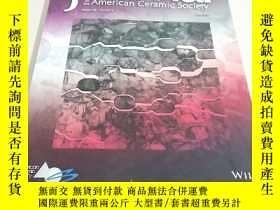 二手書博民逛書店【外文雜誌】Journal罕見of the American Ceramic Society 2016  6 .V